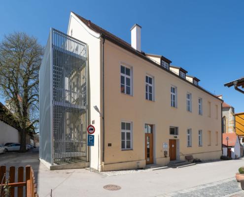 Musikschule Gebäude Vorderseite