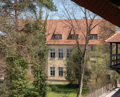Musikschule Gebäude Rückseite